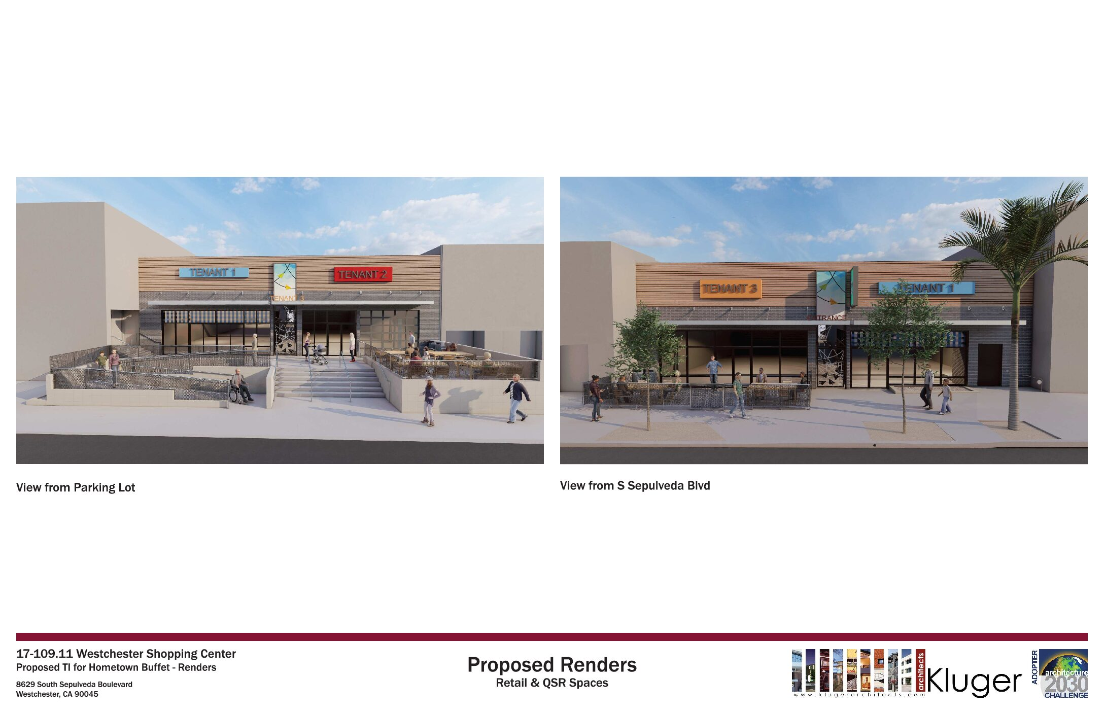 Kluger Architects Completes Designs for Westchester Shopping Center Improvements